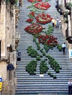 Floral steps in Sicily, Italy Photography by Andrea Annaloro
