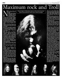 DT troll rock