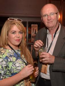 No Reproduction Fee Emma Jane Hade and Jim Gallagher, pictured at the launch of the Franciscan Well Jameson-Aged Pale Ale. Pic John Sheehan Photography