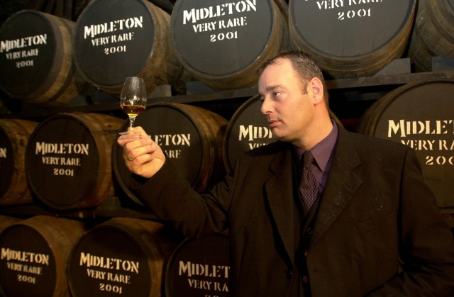 Midleton Whisley, 2001 Midleton Very Rare Ray Dempsey General Manager Irish Distillers trys out the new Batch Picture: Gerard McCarthy  (digi)