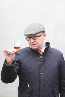 NO REPRO FEE 12/01/2018 Kilkenny Whiskey Guild. Pictured at a Kilkenny Whiskey Guild tasting event is Kevin O'Gorman, Midleton Master of Maturation, in celebration of Irish Distillers next chapter in its Virgin Irish Oak Collection of Single Pot Still Irish Whiskeys; Midleton Dair Ghaelach Bluebell Forest edition. This exceptional offering has been finished in barrels made from Irish oak grown in the Bluebell Forest of Castle Blunden Estate in County Kilkenny. Photograph: Leon Farrell / Photocall Ireland