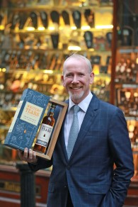 19/10/2017 - Walsh Whiskey Launch at L. Mulligan's Whiskey Shop at the Powerscourt Centre. Pictured was Bernard Walsh Walsh Whiskey. Photograph Nick Bradshaw