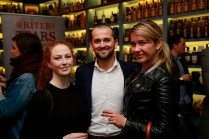 19/10/2017 - Walsh Whiskey Launch at L. Mulligan's Whiskey Shop at the Powerscourt Centre. Pictured were Gemma Munnelly; Shane Fitzharris and Eva Reingraber. Photograph Nick Bradshaw